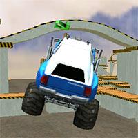 Jocuri cu arena de monster truck 3d