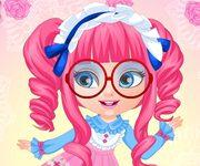 baby barbie haine anime
