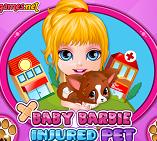 baby barbie ingrijeste animale