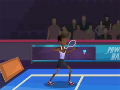 Jocuri cu badminton la simplu