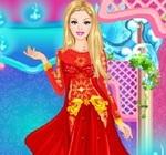 barbie imbracat haine regale
