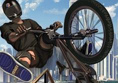 Jocuri cu bmx biciclete de cascadorii