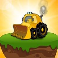 Jocuri cu buldozerul de lemne