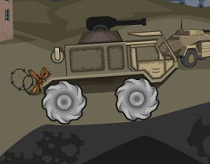 Jocuri cu camioane cu tureta in razboi