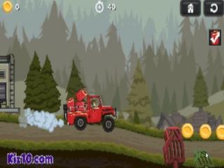 Jocuri cu camion de transport pe dealuri