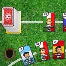 carti de joc cu fotbalisti