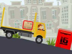 Jocuri cu curierul cu camione cu remorca