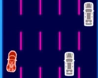 Jocuri cu drumul furiei in curse cu masini neon