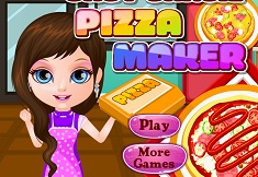 fetita barbie gateste pizza
