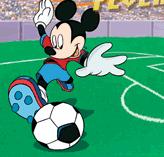 fotbal cu mickey mouse contra pete