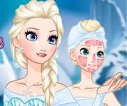 Joc Frozen Elsa De Machiat Si Imbracat