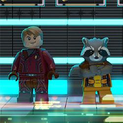 Jocuri cu gardienii galaxiei in luptele lego