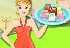 gateste prajituri de martipan cu barbie