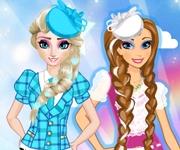 imbracat surorile frozen stilul scoala