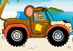 Jocuri cu jerry in cursa de jeep