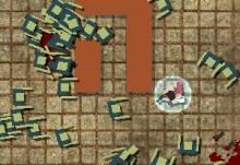 Jocuri cu luptatorul contra zombi