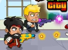 Jocuri cu lupte in orasul dinoz