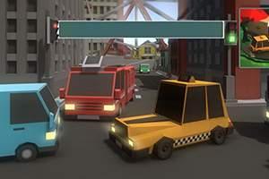 Jocuri cu masini controlate in trafic
