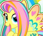 micul meu ponei fluttershy stilul curcubeu