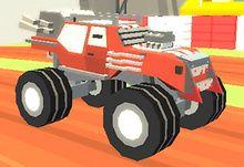 Jocuri cu monster truck 3d distrugator