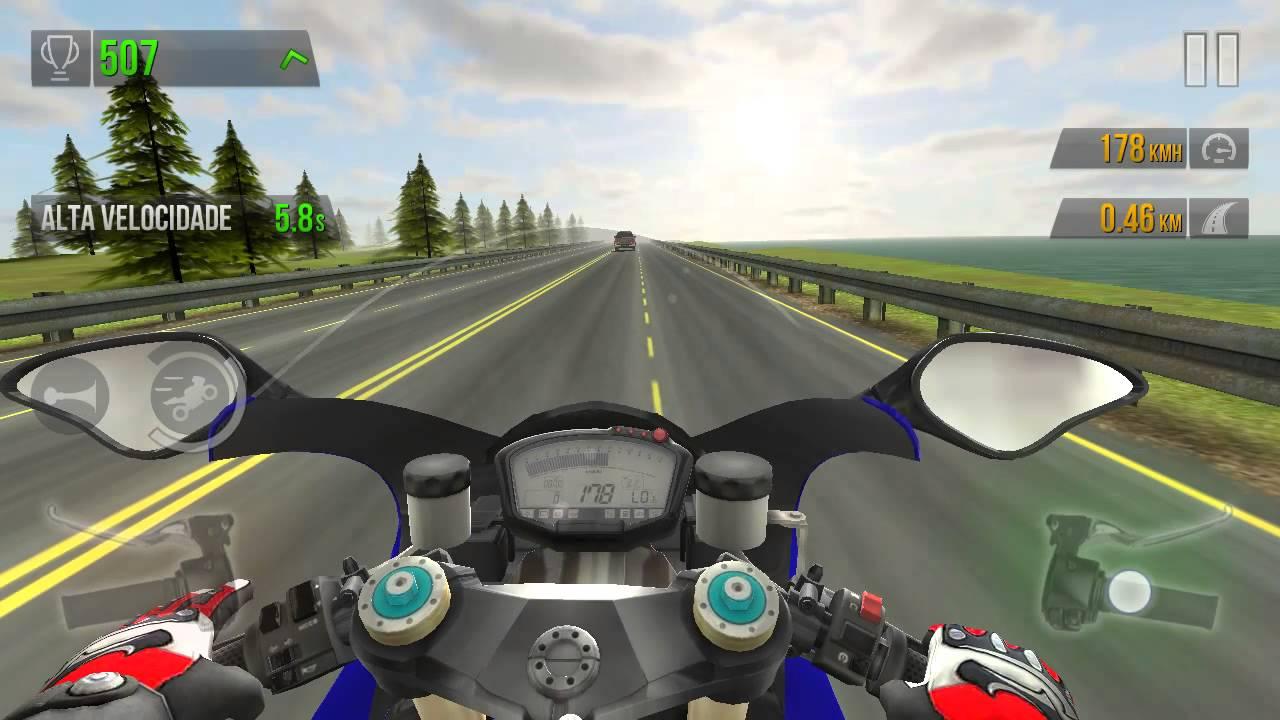 Jocuri cu motociclete 3d in trafic