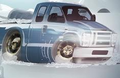 Jocuri cu parcari de camioneta iarna