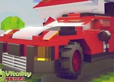 Jocuri cu parcari de masini lego