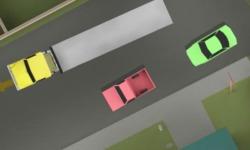 Jocuri cu parcari tiruri uriase pe strada