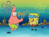 spongebob si patrick in doi