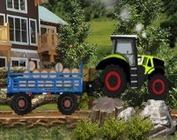 tractor de carat lemne